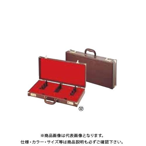 TKG 遠藤商事 レザー張り庖丁ケース(ダイヤル式) 和食用 茶 7丁入 AHU16 7-0339-0901