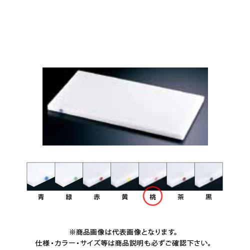 【運賃見積り】【直送品】TKG 遠藤商事 住友 抗菌スーパー耐熱まな板 カラーピン付 20SWP 桃 AMNB812 6-0329-0219