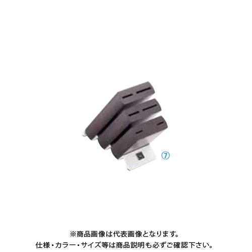TKG 遠藤商事 ヴォストフ ナイフブロック ブラウン 7251 ADLP101 7-0363-0501