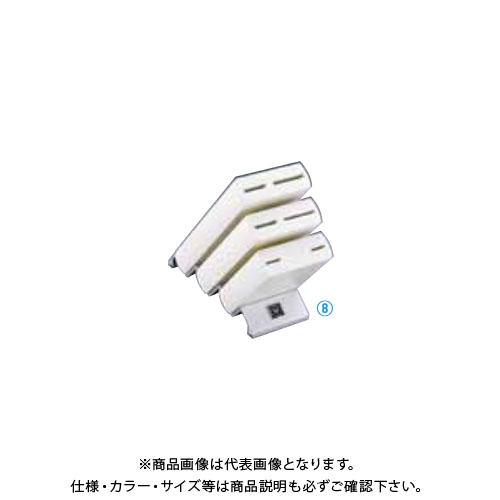 TKG 遠藤商事 ヴォストフ ナイフブロック ホワイト 7252 ADLP301 7-0363-0601