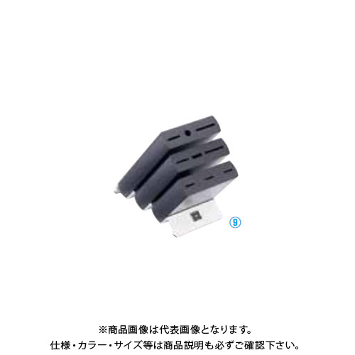 TKG 遠藤商事 ヴォストフ ナイフブロック ブラック 7253 ADLP001 6-0348-0901