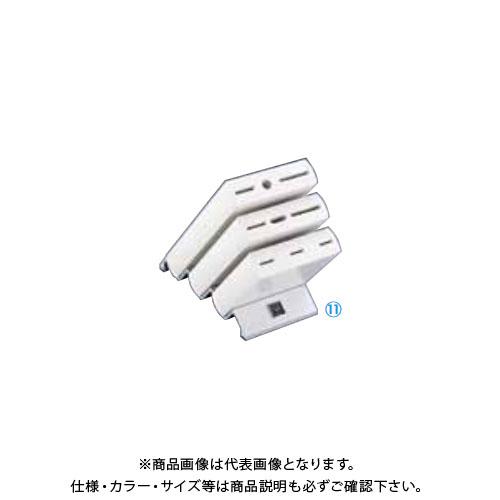 TKG 遠藤商事 ヴォストフ ナイフブロック ホワイト 7254 ADLP401 6-0348-1101