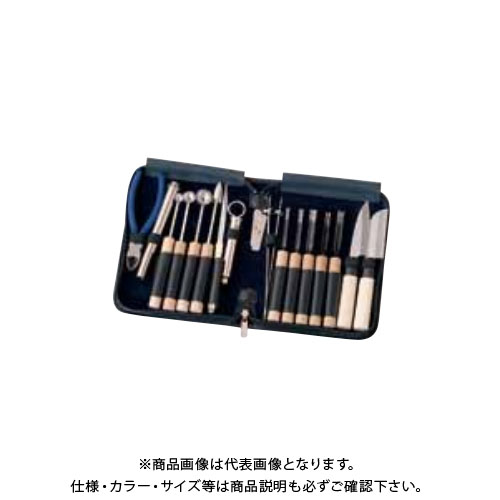TKG 遠藤商事 関西型 野菜抜細工セット 大 16点セット(新セット) BMK4601 6-0497-0701