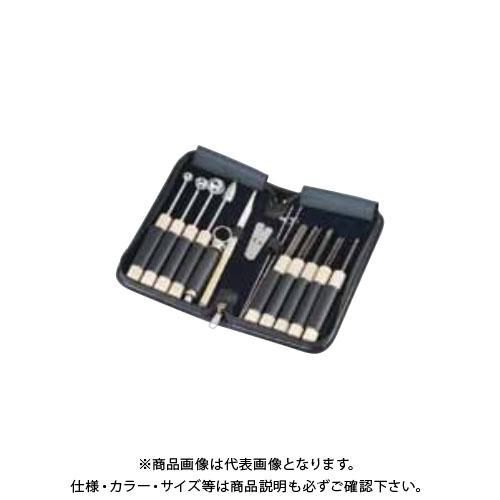 TKG 遠藤商事 関西型 野菜抜細工セット 中 12点セット(新セット) BMK4301 7-0523-0801