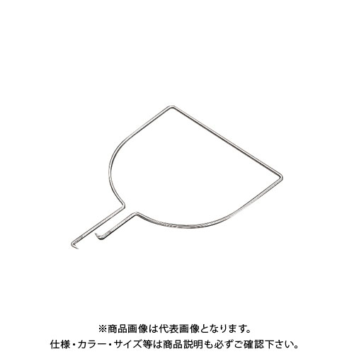 【20日限定!3エントリーでP16倍!】【受注生産品】浅野金属 ステンレス製玉枠標準型三角型6×480 (5本) AK8342