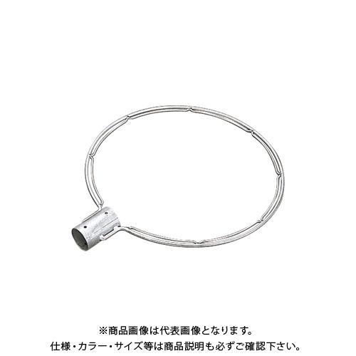 【受注生産品】浅野金属 ステンレス製玉枠SP型丸型(全周内金) 40A7×450 (5本) AK8638