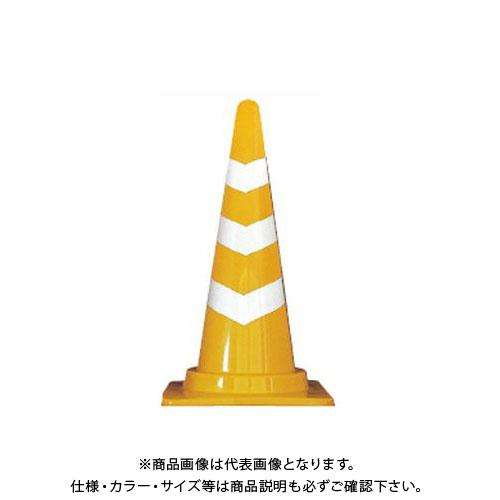 【直送品】安全興業 スコッチコーン 黄白 (25入) SCY