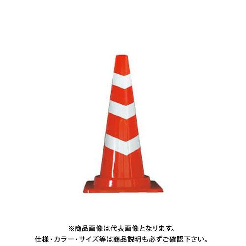【直送品】安全興業 カットスコッチコーン 赤白 (25入) CSCR