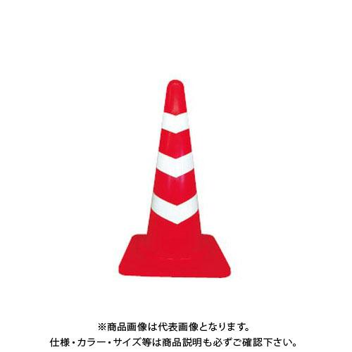 【直送品】安全興業 ヘビスコッチコーン 赤白 2.8kg (10入) kEY-788