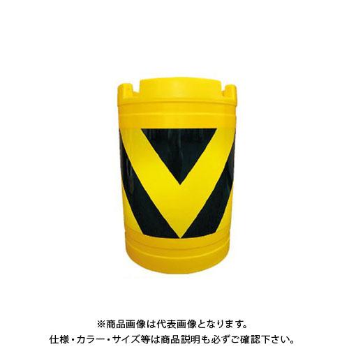 【直送品】安全興業 バンパードラム 黄黒 (1入) KHB-3