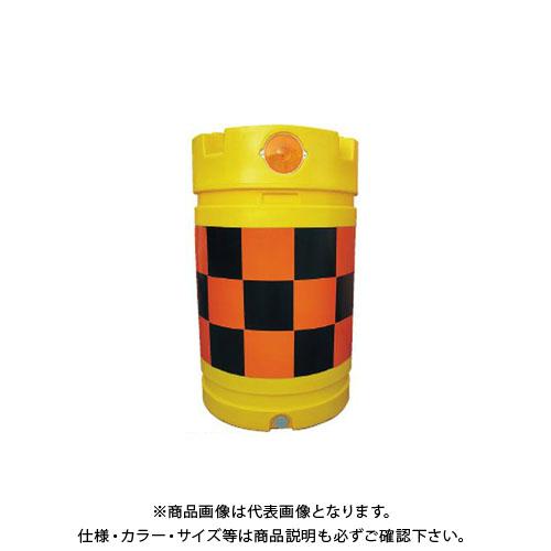 【直送品】安全興業 デリネーター付バンパードラム 高輝度 (1入) KDD-4