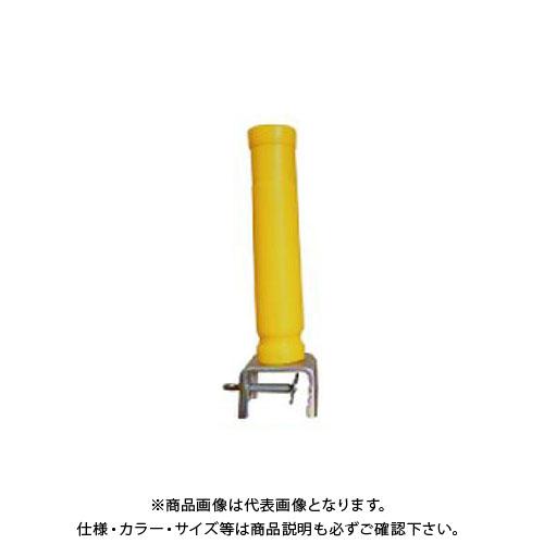 【直送品】安全興業 横型バイス君 黄 (50入) KEY-606Y