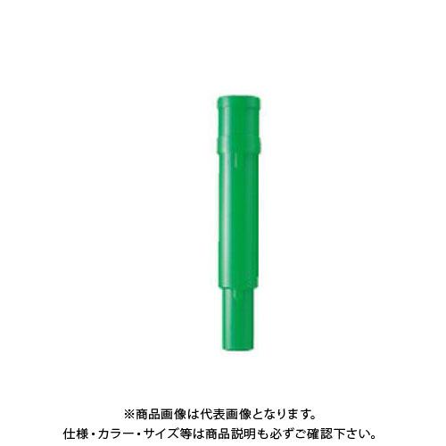 【直送品】安全興業 差し込み式電池ケース 緑 (100入) KEY-607G