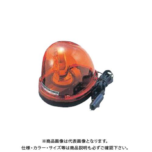 【直送品】安全興業 車載用回転灯 24V 黄 (10入) MG24V-Y