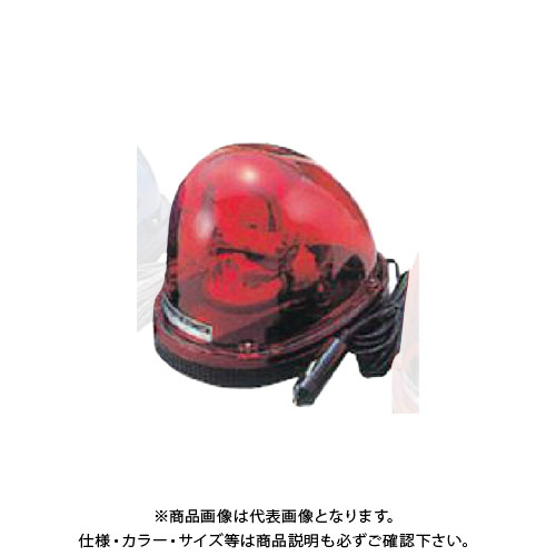 【直送品】安全興業 車載用回転灯 24V 赤 (10入) MG24V-R