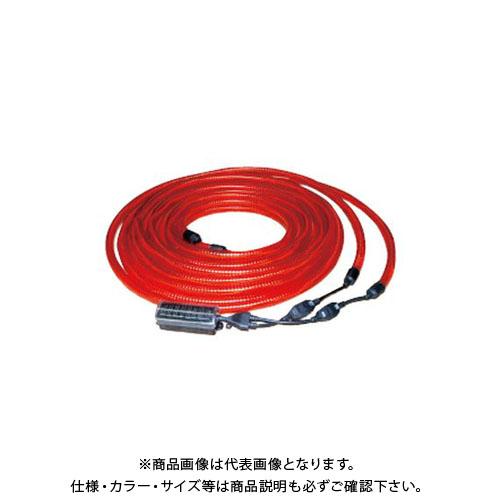 【直送品】安全興業 ソーラー式LEDチュ-ブライト (5入) LED-003