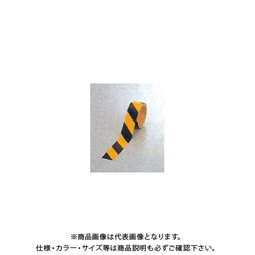 【運賃見積り】【直送品】安全興業 ダイヤテープ(10M巻)45mm巾 黄/黒 (24入) NRB-45
