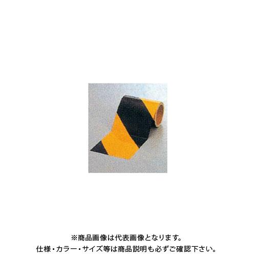 【運賃見積り】【直送品】安全興業 ダイヤテープ(10M巻)150mm巾 黄/黒 (6入) NRB-150
