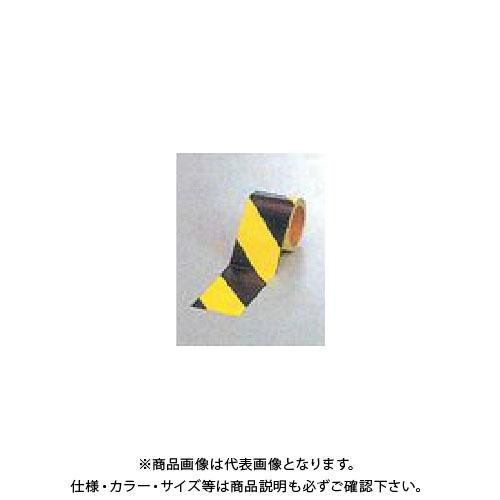 【運賃見積り】【直送品】安全興業 蛍光ダイヤテープ(10M巻)90mm巾 (12入) NRL-90