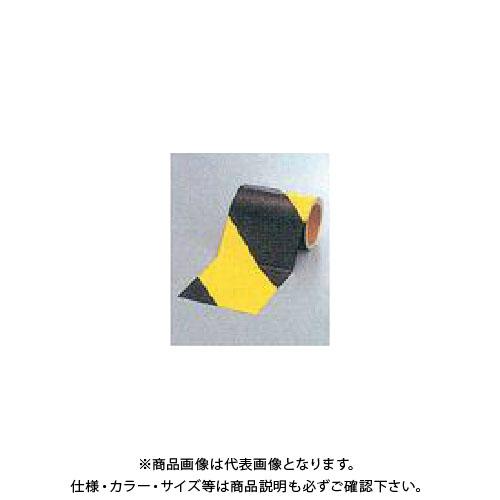 【運賃見積り】【直送品】安全興業 蛍光ダイヤテープ(10M巻)150mm巾 (6入) NRL-150