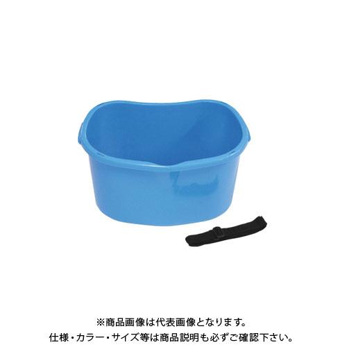 【直送品】安全興業 散布桶 18型 ブルー 430×310×213mm (20入)