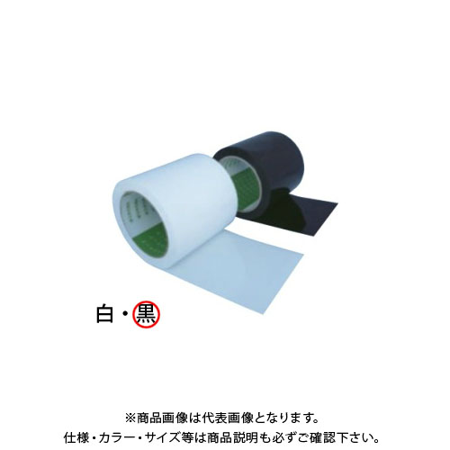 【運賃見積り】【直送品】日本住環境 気密テープ(ポリエチ/アクリル) ツーエステープ100片面(ブラック) 18巻入 (020106005)