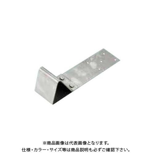 スワロー工業 D348 304ステン 生地 一体型コロニアル雪止 L200 (100入) 0104700