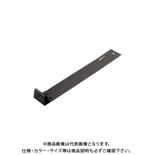 スワロー工業 D416 304ステン 黒色 小型 三角コロニアル雪止 切起 後付 (50入) 0105152