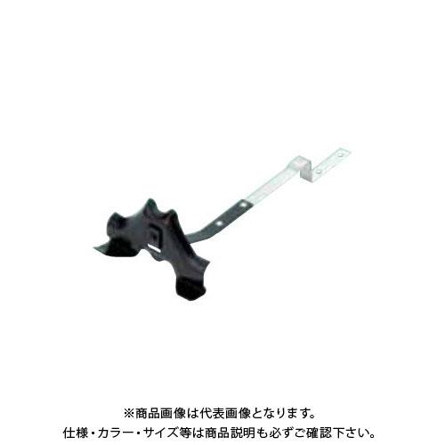 スワロー工業 D352 亜鉛板 黒色 N型 富士型雪止(焼瓦用) (100入) 0113400