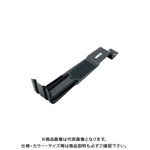 スワロー工業 430ステン 黒色 スタウト4号 平板瓦用雪止 (100入) 0115610