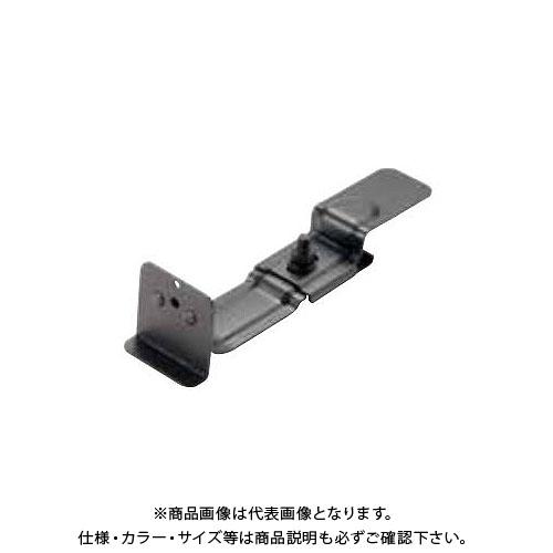 スワロー工業 430ステン 黒色 平板用雪止 後付 H24 (角型羽根付) (30入) 0121986