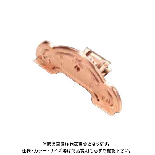 スワロー工業 D381 高耐食鋼板 生地 唐草横葺雪止 後付 (50入) 0142650