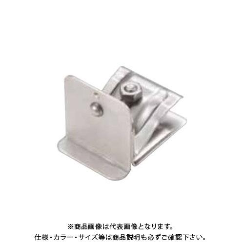 スワロー工業 D370 304ステン 黒色 角型横葺雪止(D-A) 後付 (50入) 0143700
