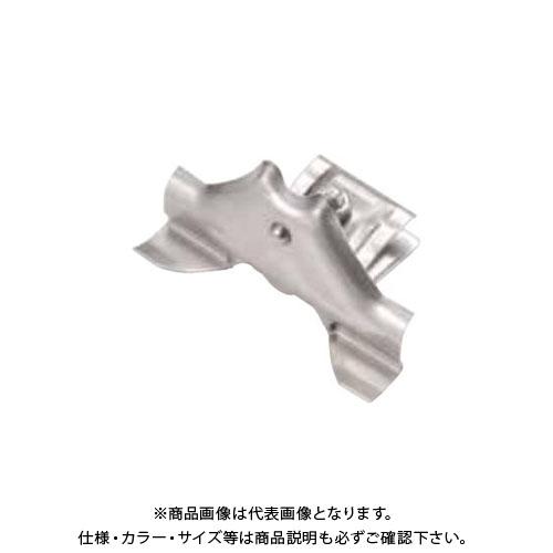 スワロー工業 D372 304ステン 生地 富士型横葺雪止 後付 (50入) 0144500