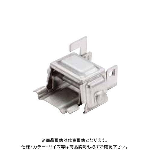 スワロー工業 D369 高耐食鋼板 生地 アトラスII 林式雪止 55mm アングル用 (60入) 0168700