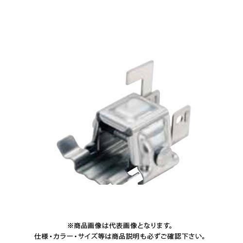 スワロー工業 D379 ドブ 生地 アトラスII 瓦棒丸耳雪止 アングル用 (60入) 0170020