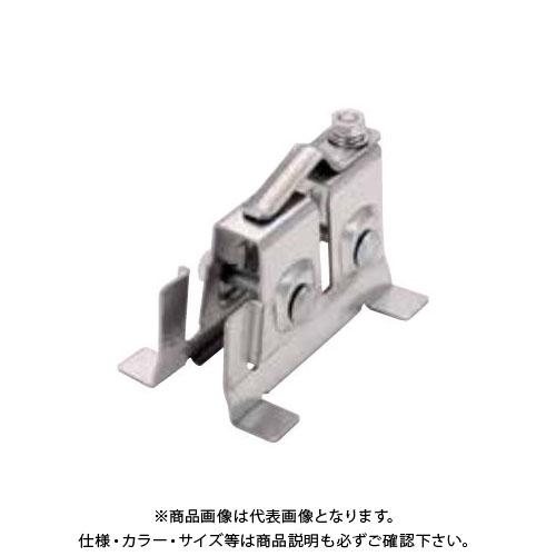 スワロー工業 高耐食鋼板 生地 嵌合ピーチロック雪止 アングル用 (40入) 0171230