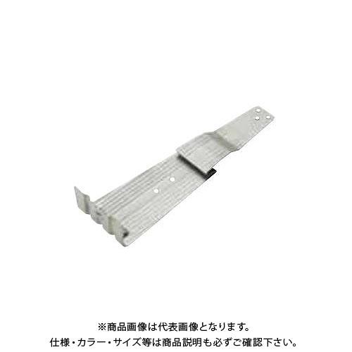 スワロー工業 430ステン ダークブラウン ジャスト 扇形AT雪止 先付 (100入) 1100003