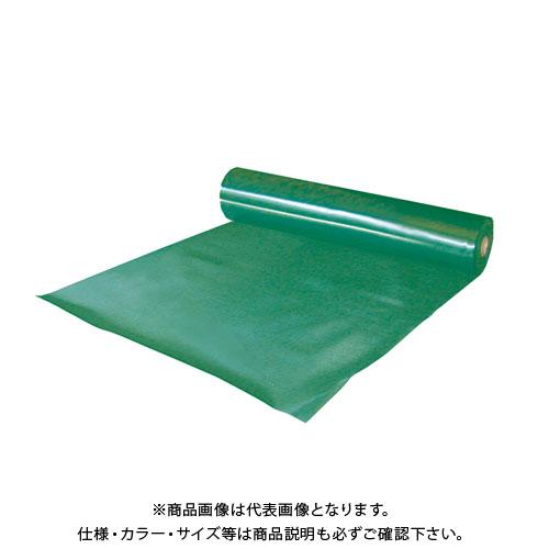 【運賃見積り】【直送品】エムエフ エンビシート0.5 緑 (5本入) 0.5mmt×1000×30m N35-023