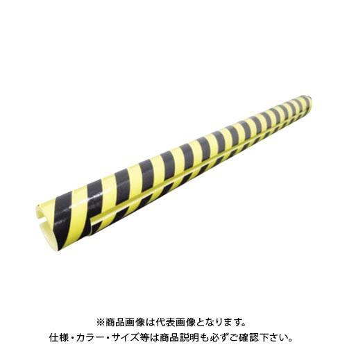 【直送品】エムエフ 足場単管用トラ養生カバー(50本入) 8×内径60φ×1700mm