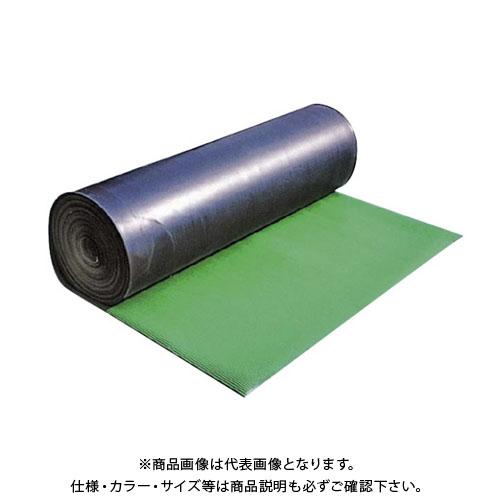 【直送品】エムエフ B山ゴムマット(ヨコ筋)(3本入) 3mmt×1000×10m G24-002