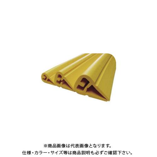 【直送品】エムエフ H鋼安心ガード(小) 黄色 (20本入) 適用幅 H鋼9~12×1m