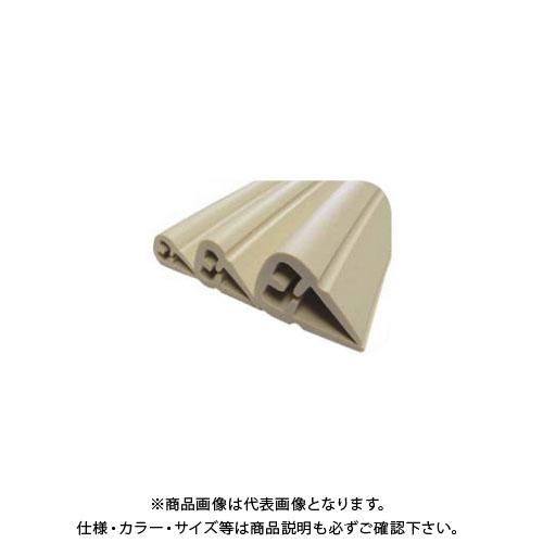【直送品】エムエフ H鋼安心ガード(大) ベージュ (12本入) 適用幅 H鋼19~24×1m