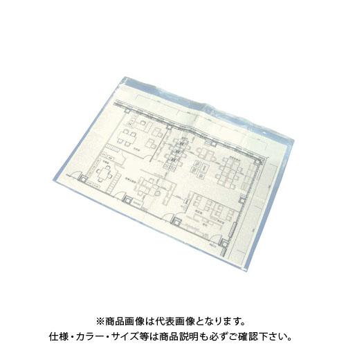 【直送品】エムエフ 図面ケースA1型(30枚入) 860×700mm B12-001