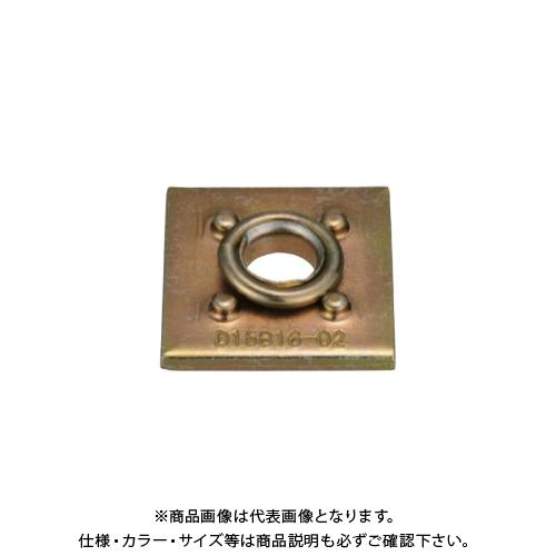 【運賃見積り】【直送品】タナカ スプリングワッシャ付き角座金 (400枚入) AZ4380