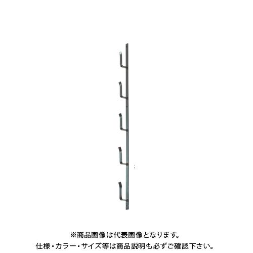 【運賃見積り】【直送品】タナカ 十手型金具(ステンレスブロンズ) 8段(5尺) (10本入) AD5J18