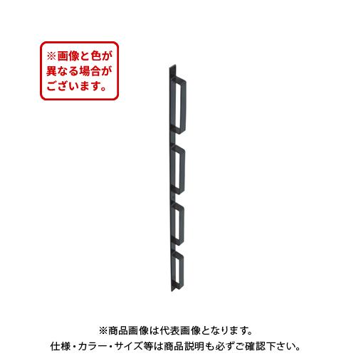 【運賃見積り】【直送品】タナカ 貫抜型金具(鉄) 7段(5尺) (5本入) AD5D04
