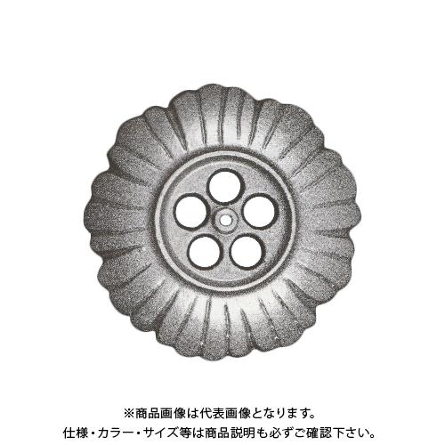 【運賃見積り】【直送品】中総 雨とい用くさり 大(2700g) おもり(真鍮鋳物)240φ