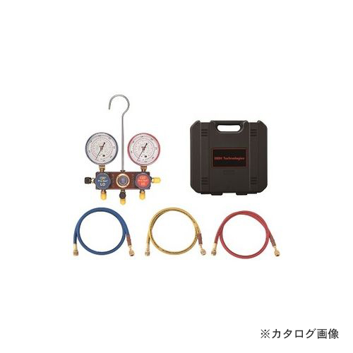 BBK R404A/407C heat pump-adaptive manifold kit charging hose 90cm  specifications 1407-HP (203-1641)