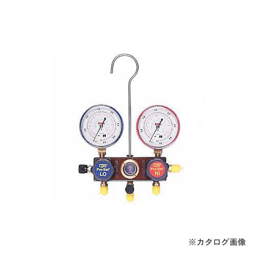 BBK R404A/407C ヒ-トポンプ対応マニホールド 1407-HPM (203-1613)